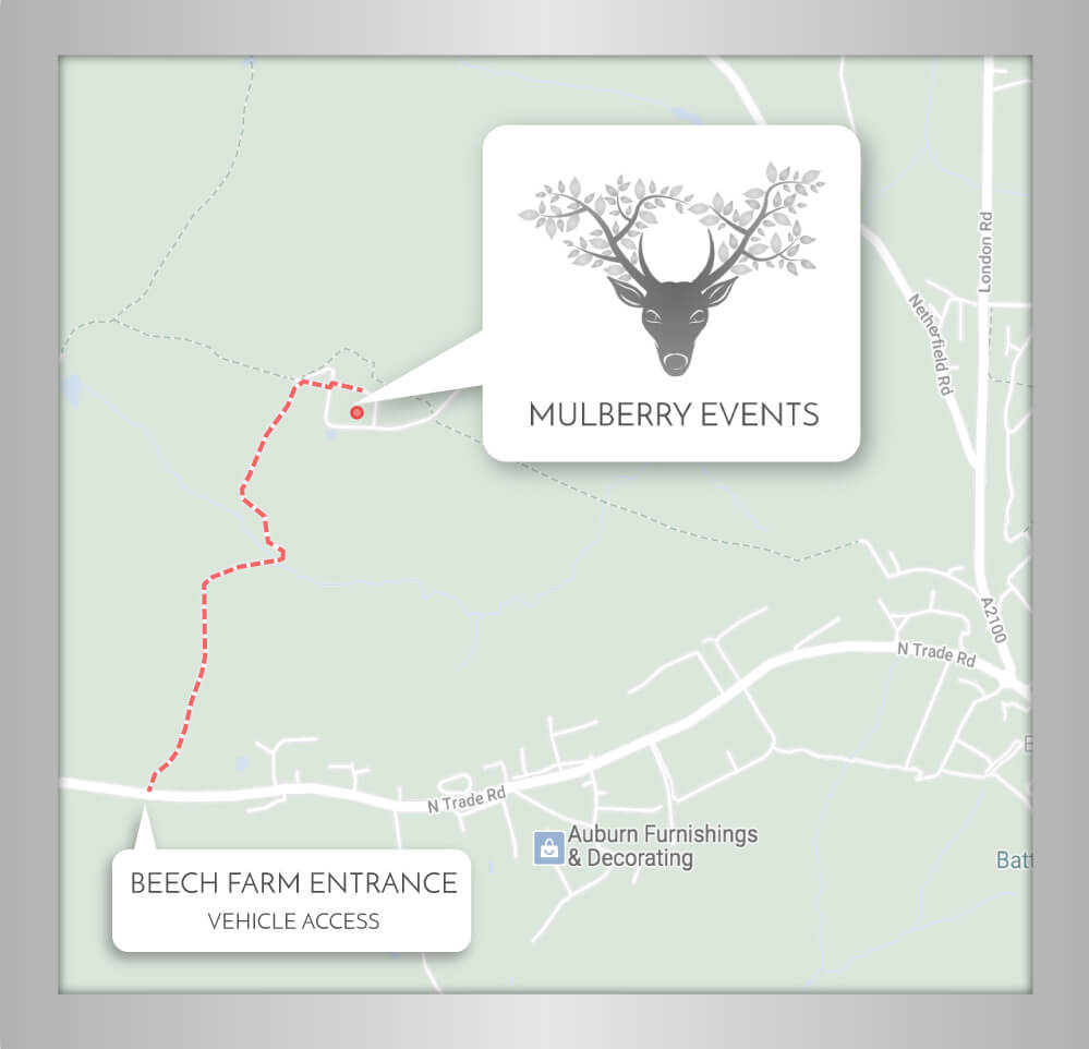 Mulberry Events Showroom